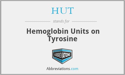 HUT - Hemoglobin Units on Tyrosine