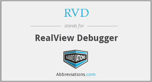 RVD - RealView Debugger