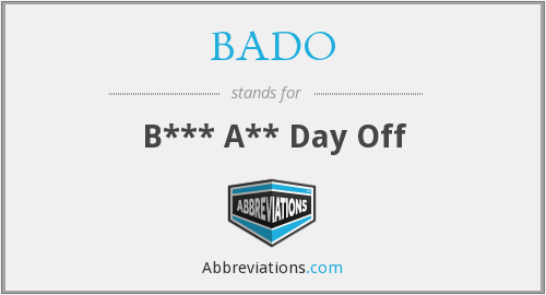 What does BADO stand for?