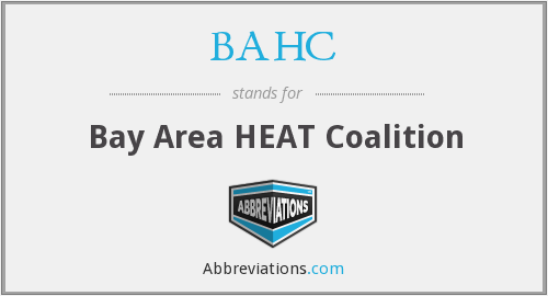 BAHC - Bay Area HEAT Coalition