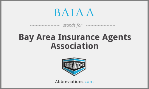 What does BAIAA stand for?