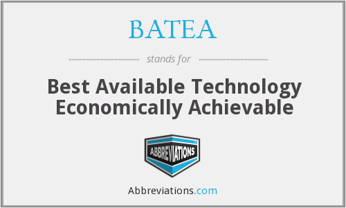 What does BATEA stand for?