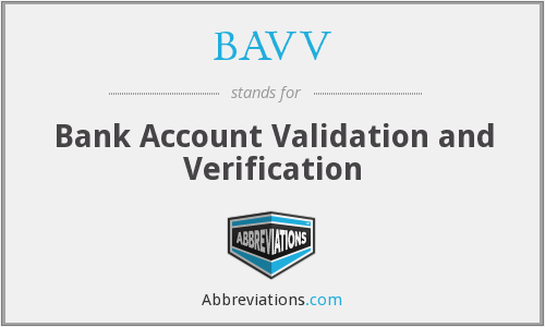What does BAVV stand for?