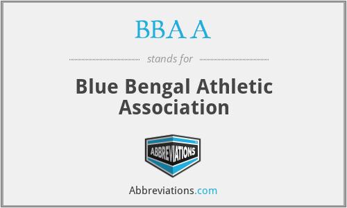 BBAA - Blue Bengal Athletic Association