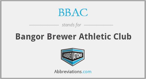 BBAC - Bangor Brewer Athletic Club