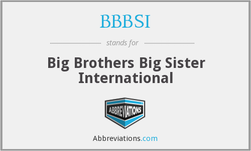 What does BBBSI stand for?
