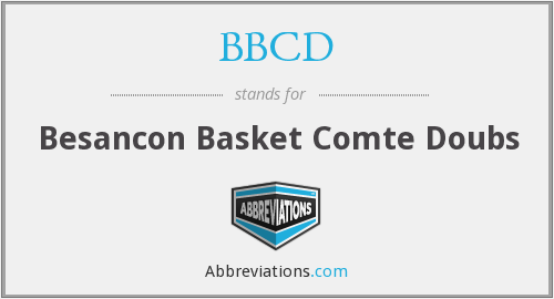 BBCD - Besancon Basket Comte Doubs