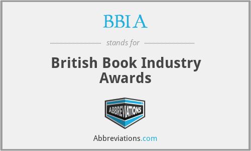 BBIA - British Book Industry Awards