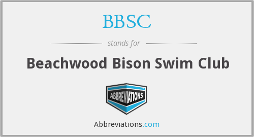 BBSC - Beachwood Bison Swim Club