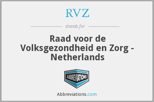 What does RVZ stand for?