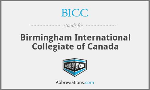 BICC - Birmingham International Collegiate of Canada