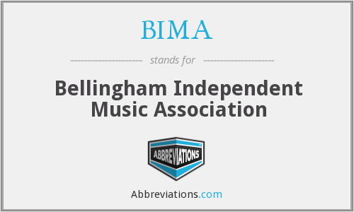BIMA - Bellingham Independent Music Association