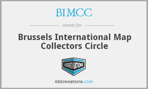 BIMCC - Brussels International Map Collectors Circle