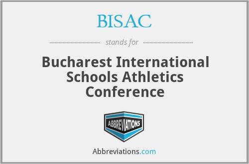 BISAC - Bucharest International Schools Athletics Conference