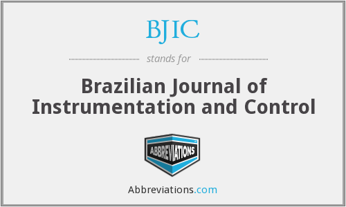 BJIC - Brazilian Journal of Instrumentation and Control