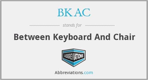 What does BKAC stand for?