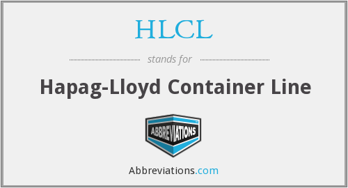 HLCL - Hapag-Lloyd Container Line