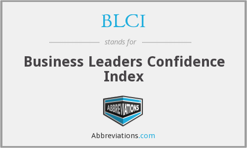 BLCI - Business Leaders Confidence Index