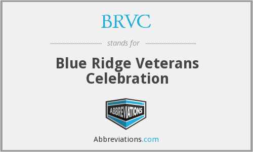 BRVC - Blue Ridge Veterans Celebration