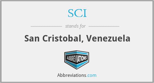 SCI - San Cristobal, Venezuela