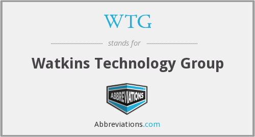 WTG - Watkins Technology Group