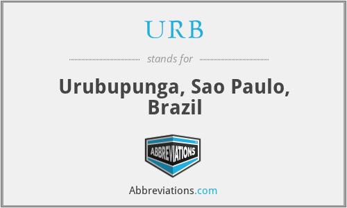 URB - Urubupunga, Sao Paulo, Brazil