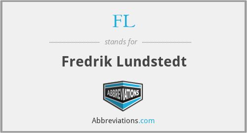 FL - Fredrik Lundstedt