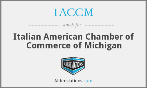 What does IACCM stand for?