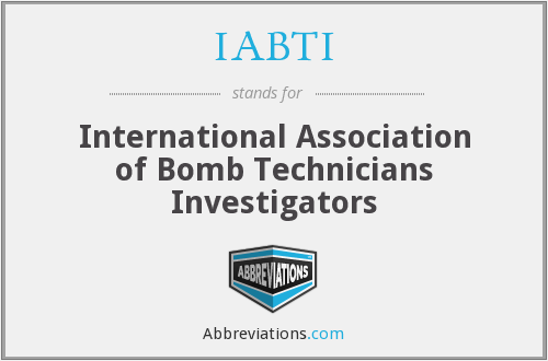 IABTI - International Association of Bomb Technicians Investigators