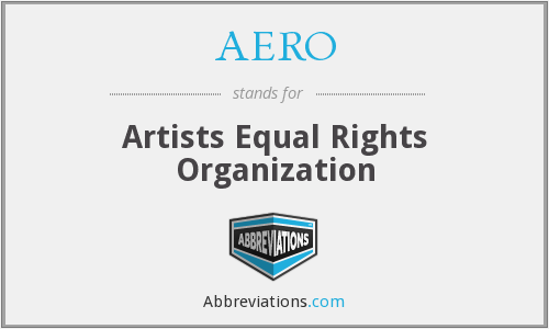 AERO - Artists Equal Rights Organization