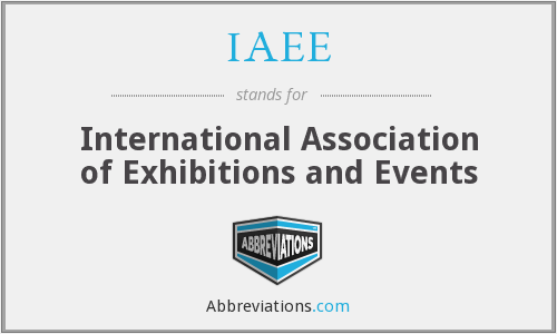 What does IAEE stand for?