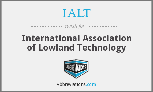 What does IALT stand for?