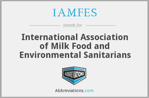 What does IAMFES stand for?