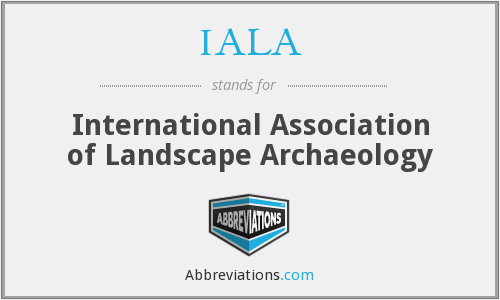What does IALA stand for?