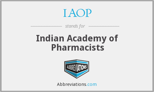What does IAOP stand for?
