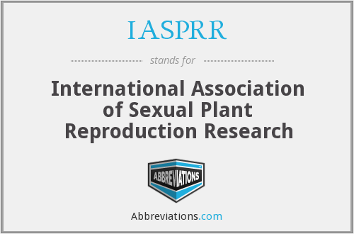 IASPRR - International Association of Sexual Plant Reproduction Research