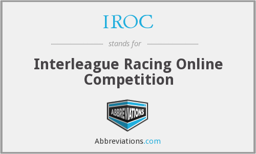 IROC - Interleague Racing Online Competition