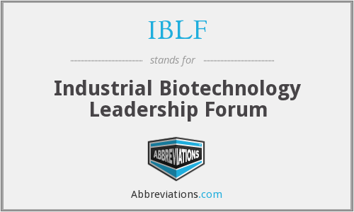 What does IBLF stand for?
