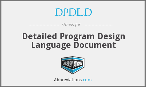 What does DPDLD stand for?