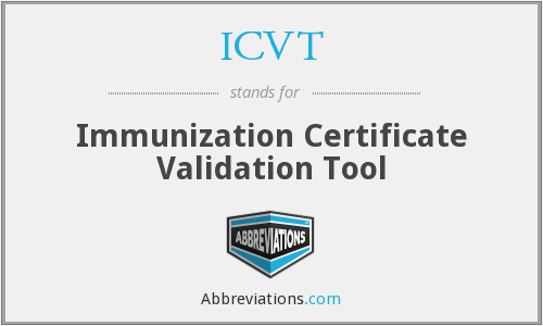 What does ICVT stand for?