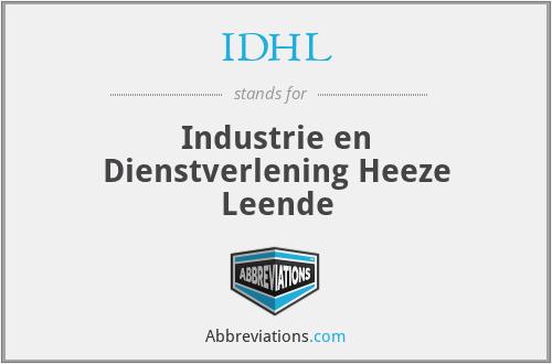 IDHL - Industrie en Dienstverlening Heeze Leende