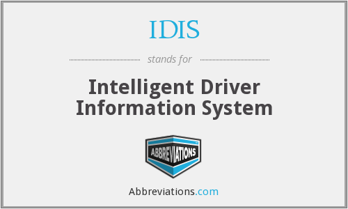 What does IDIS stand for?