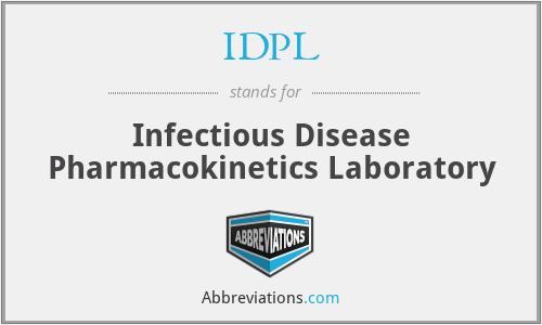 IDPL - Infectious Disease Pharmacokinetics Laboratory