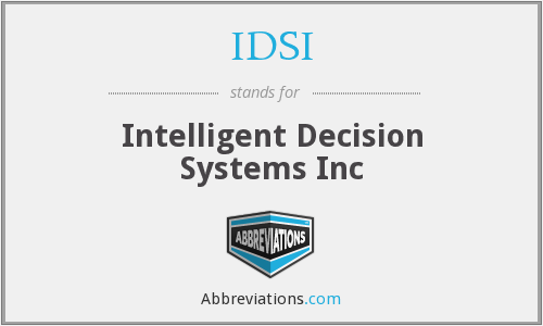 What does IDSI stand for?