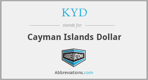 KYD - Cayman Islands Dollar