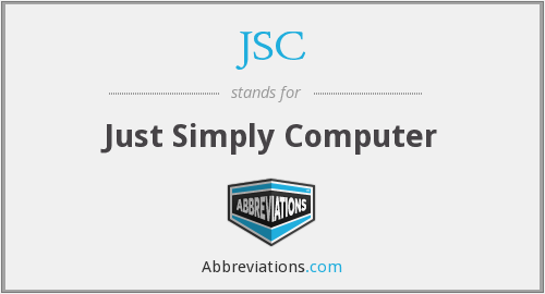 JSC - Just Simply Computer