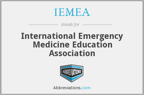 IEMEA - International Emergency Medicine Education Association
