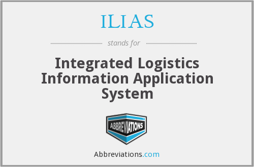 ILIAS - Integrated Logistics Information Application System