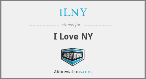 What does ILNY stand for?