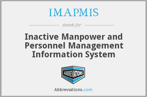 What does IMAPMIS stand for?